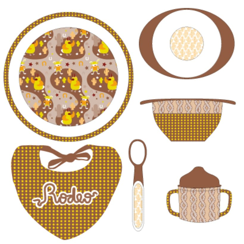 Pattern | Child tableware winter collection 3