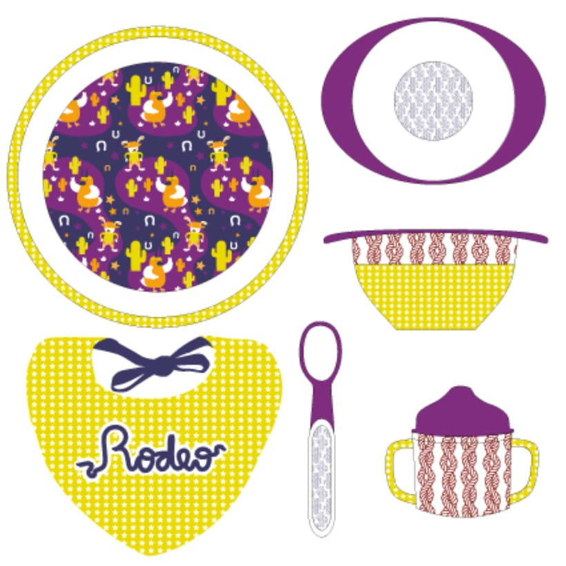 Pattern | Child tableware winter collection 5