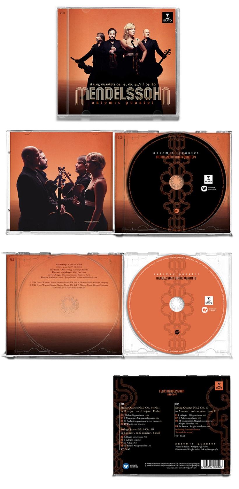 Artemis Quartet - Mendelssohn 3