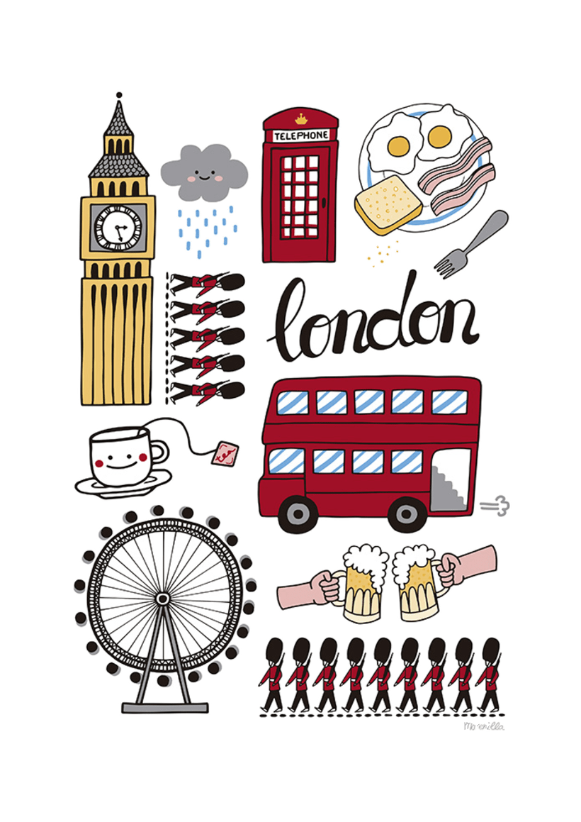 LONDON ICONS 2
