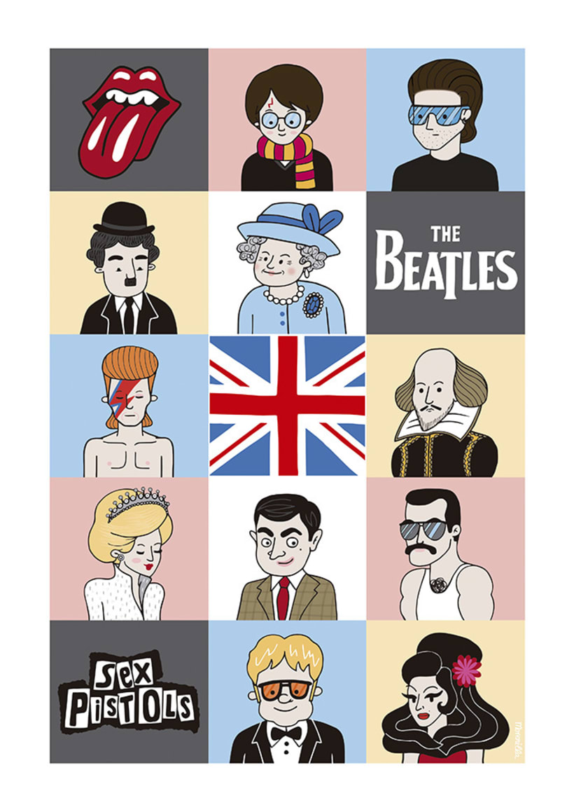 LONDON ICONS 0
