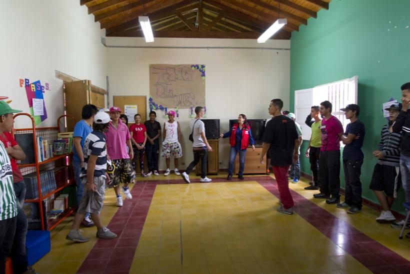 Proyecto Ícaro: Secretaría de Juventud y la Universidad de Antioquia. Taller: resolución de conflictos 1