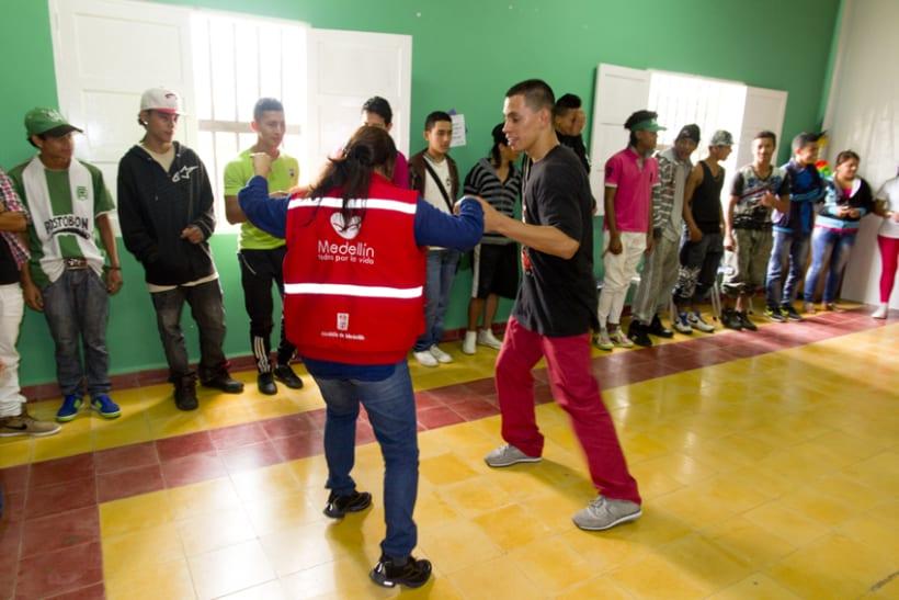 Proyecto Ícaro: Secretaría de Juventud y la Universidad de Antioquia. Taller: resolución de conflictos 3