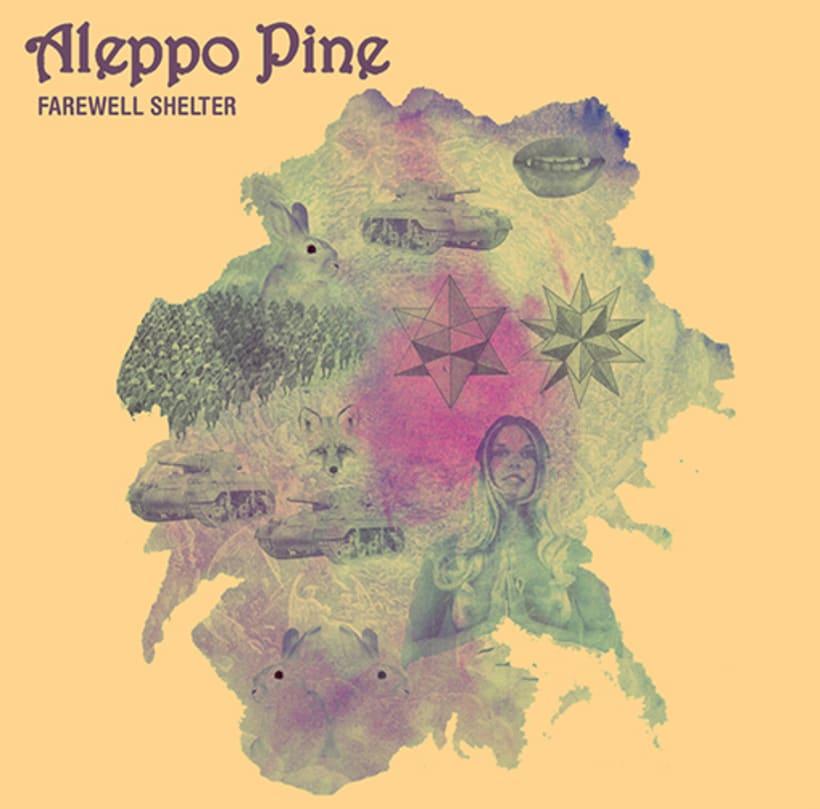 Aleppo Pine Farewell Shelter Artwork (Autoproducido, 2012) -1