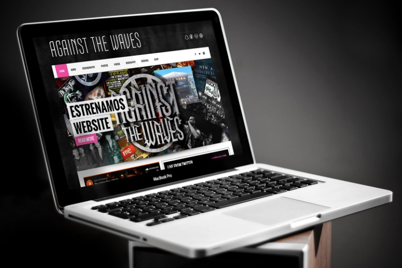 Against The Waves Official Website 0