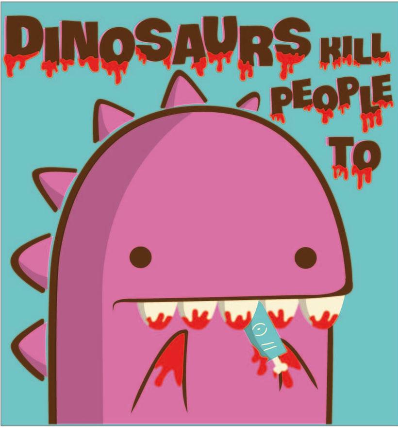 Dinos kill people to 0
