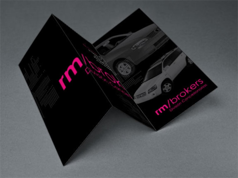 Diseño de Brochure para RM BROKERS 1