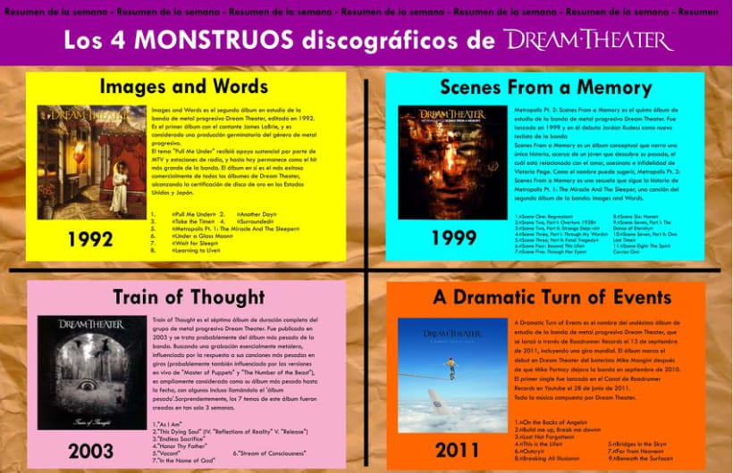 Revista - Dream Theater - Proyecto Universitario 7