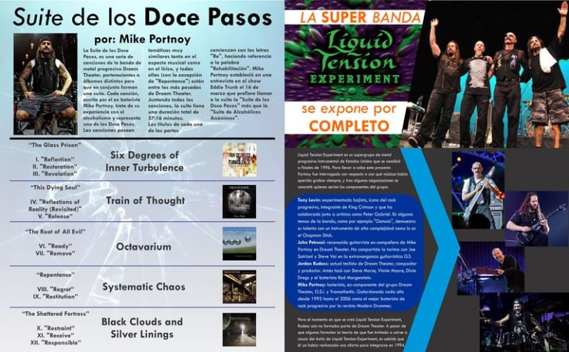 Revista - Dream Theater - Proyecto Universitario 3