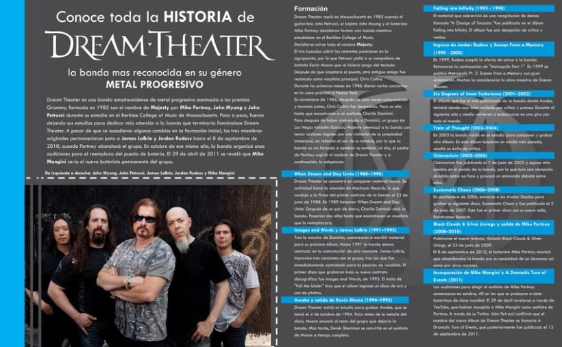 Revista - Dream Theater - Proyecto Universitario 2