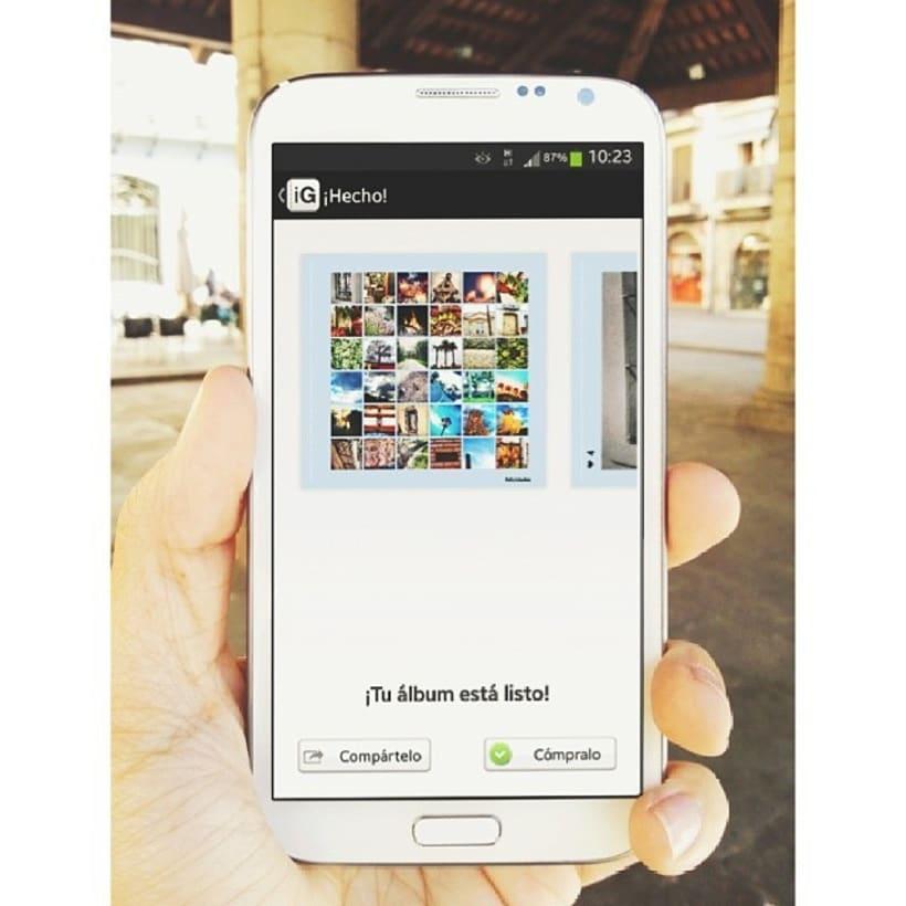 Instagrafic : tus recuerdos del móvil a tus manos. 2