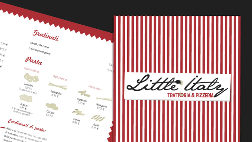 Carta Little Italy Trattoria & Pizzeria -1