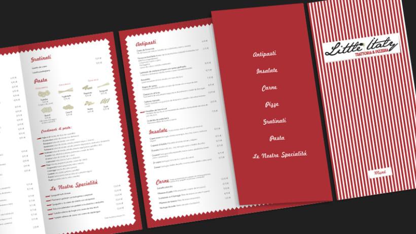 Carta Little Italy Trattoria & Pizzeria 0