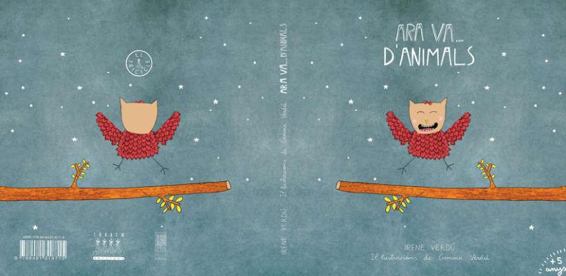 """Libro Infantil """"Ara va d'animals"""" 0"""