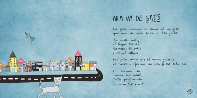 """Libro Infantil """"Ara va d'animals"""" 2"""