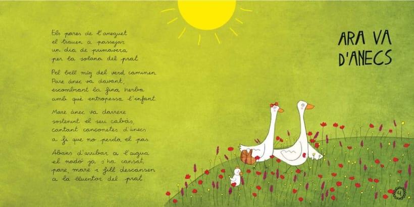 """Libro Infantil """"Ara va d'animals"""" 3"""