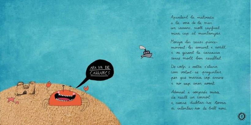 """Libro Infantil """"Ara va d'animals"""" 4"""