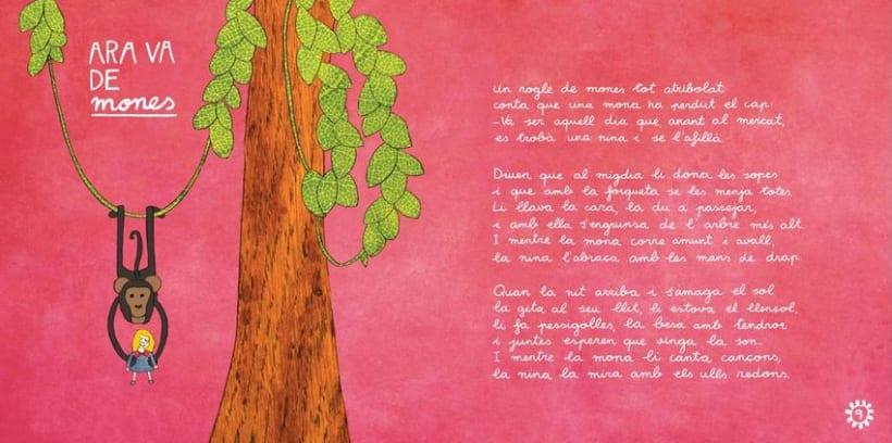"""Libro Infantil """"Ara va d'animals"""" 7"""