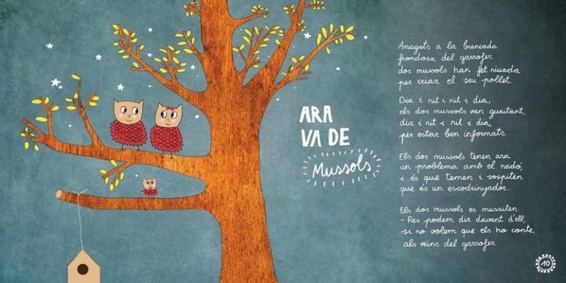 """Libro Infantil """"Ara va d'animals"""" 8"""