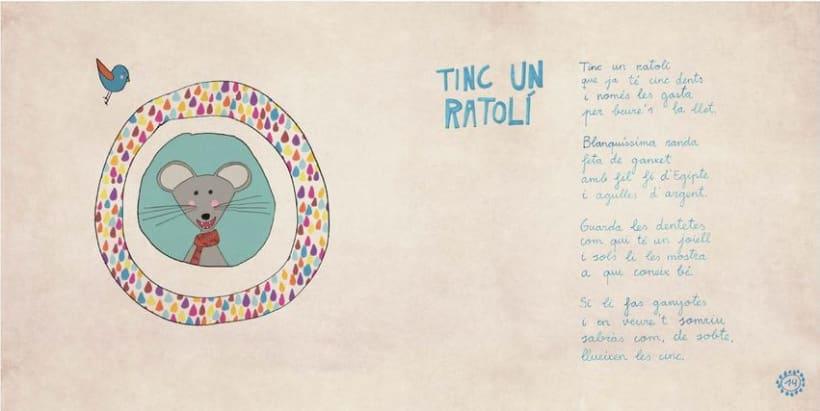 """Libro Infantil """"Ara va d'animals"""" 10"""