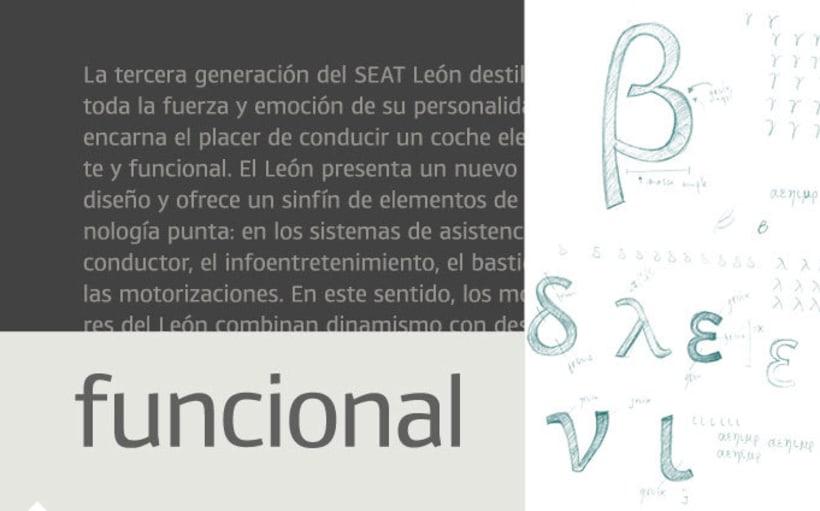 Tipografía SEAT 3