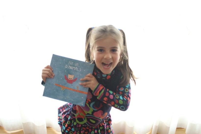 """Libro Infantil """"Ara va d'animals"""" 11"""