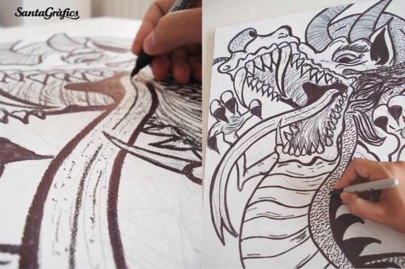 Skateboard • The Brave Dragon @matdisseny 3