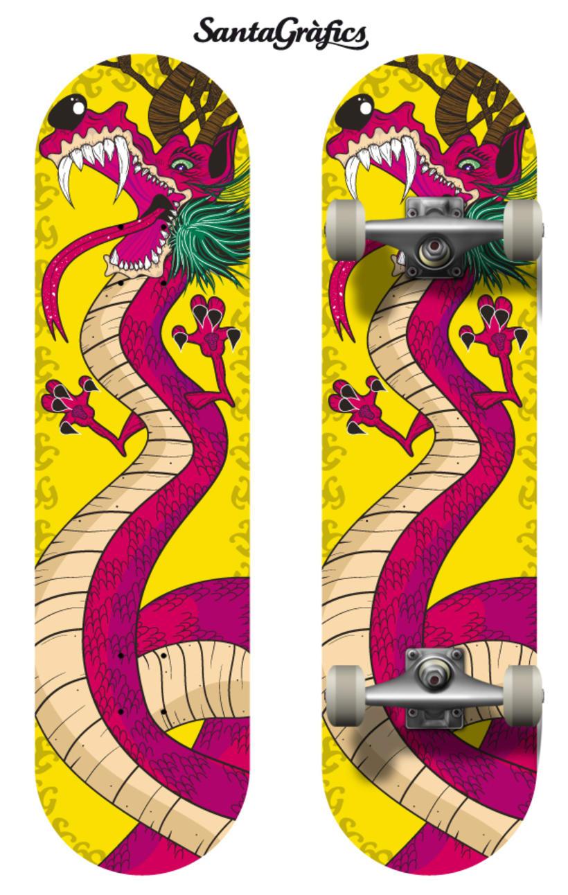 Skateboard • The Brave Dragon @matdisseny 0