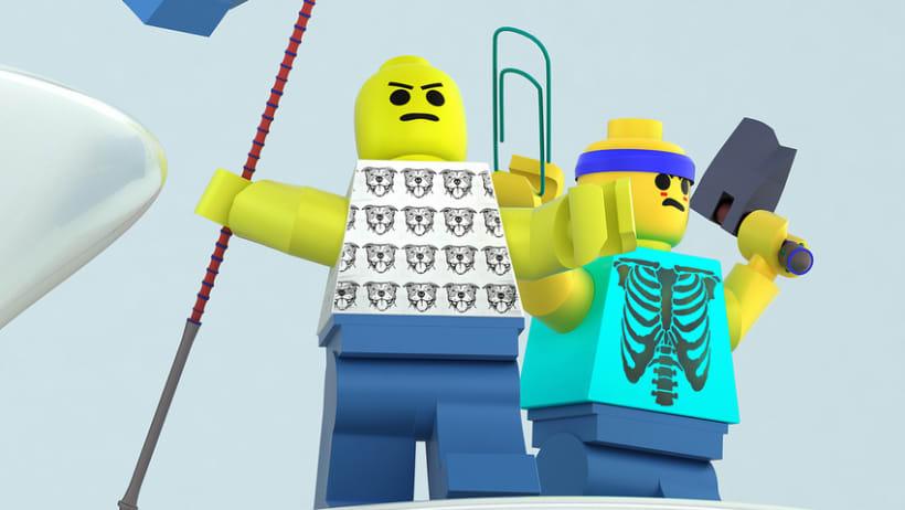 Fighting Lego's 3