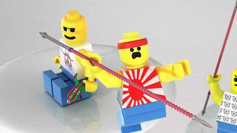 Fighting Lego's 4
