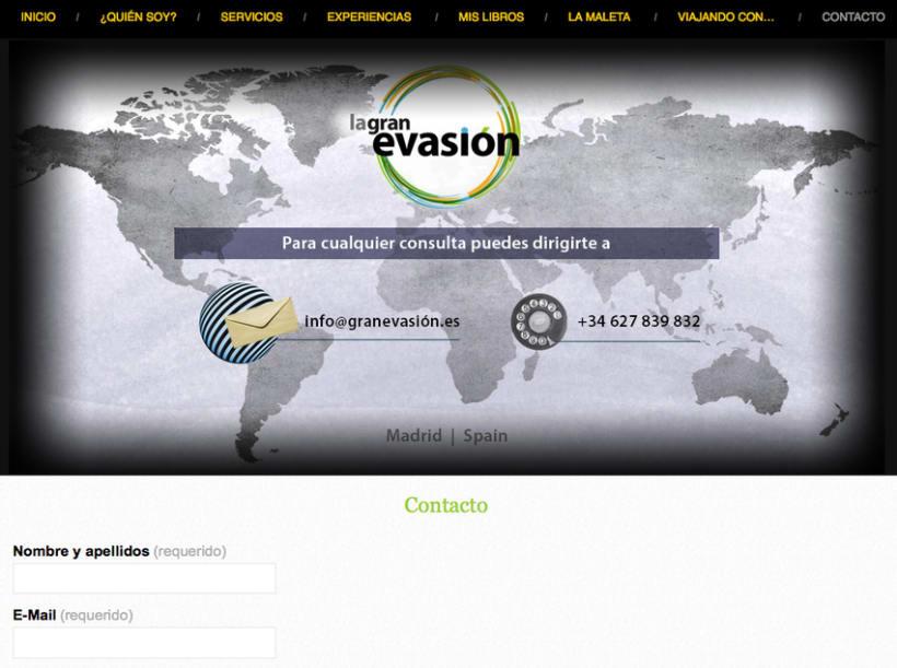 La Gran Evasión | una web profesional que combina experiencias y servicios 7