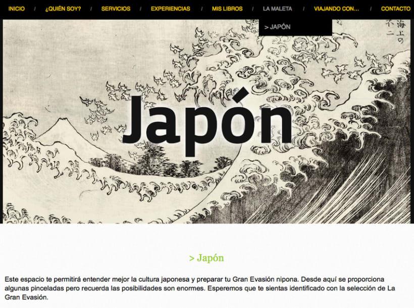 La Gran Evasión | una web profesional que combina experiencias y servicios 5