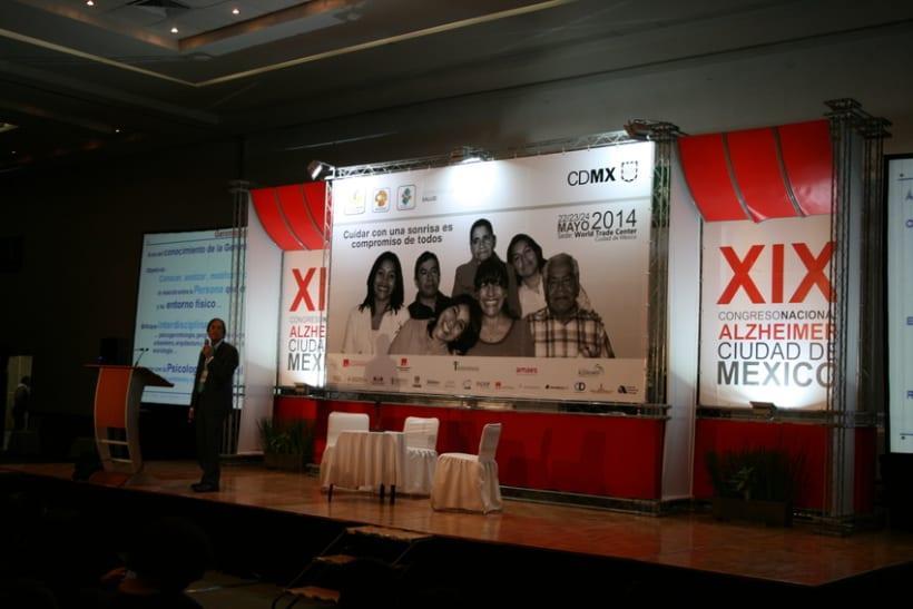 Congreso Nacional Alzheimer Ciudad de México 1