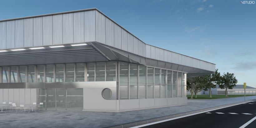 CG Images - Arquitectura estación de Ferrocarriles 2