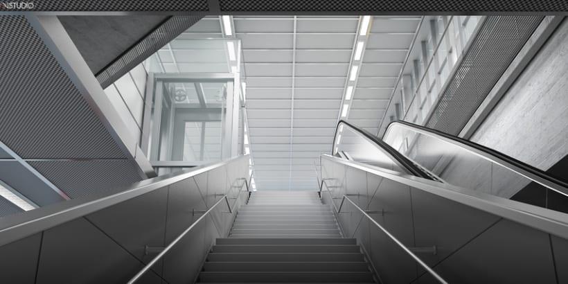CG Images - Arquitectura estación de Ferrocarriles 8