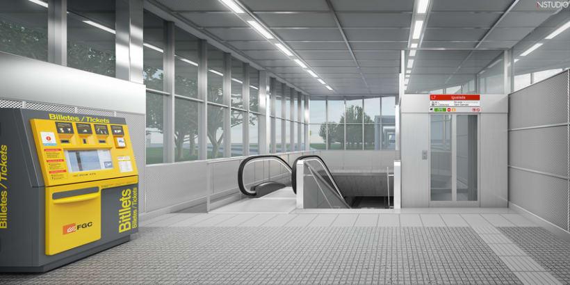CG Images - Arquitectura estación de Ferrocarriles 9
