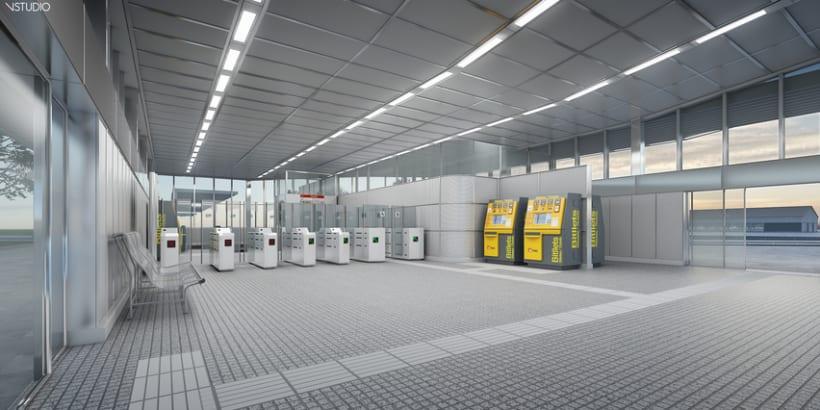 CG Images - Arquitectura estación de Ferrocarriles 10