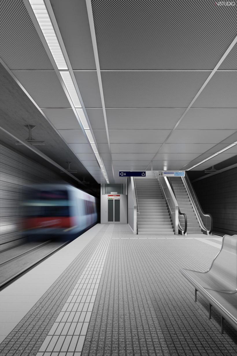 CG Images - Arquitectura estación de Ferrocarriles 12