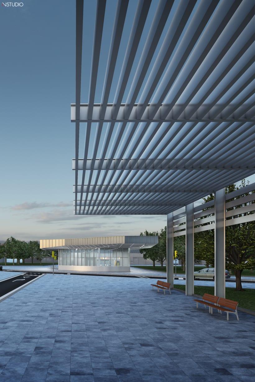 CG Images - Arquitectura estación de Ferrocarriles 4