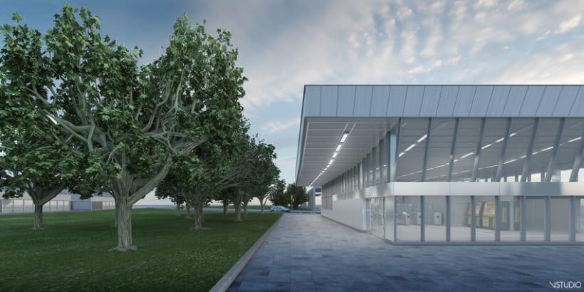 CG Images - Arquitectura estación de Ferrocarriles 6