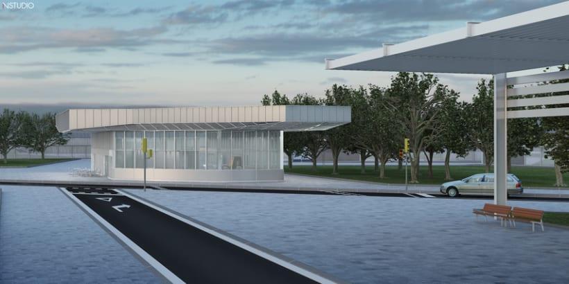 CG Images - Arquitectura estación de Ferrocarriles 7