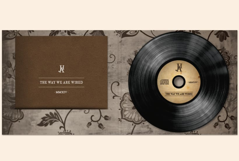 THE WAY WE ARE WIRED · Digipack Design 5