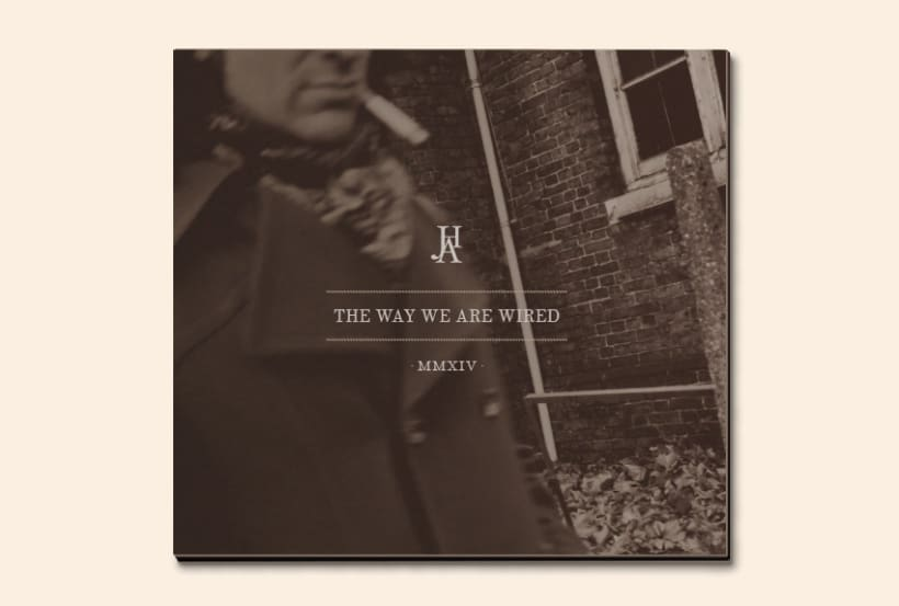 THE WAY WE ARE WIRED · Digipack Design 2