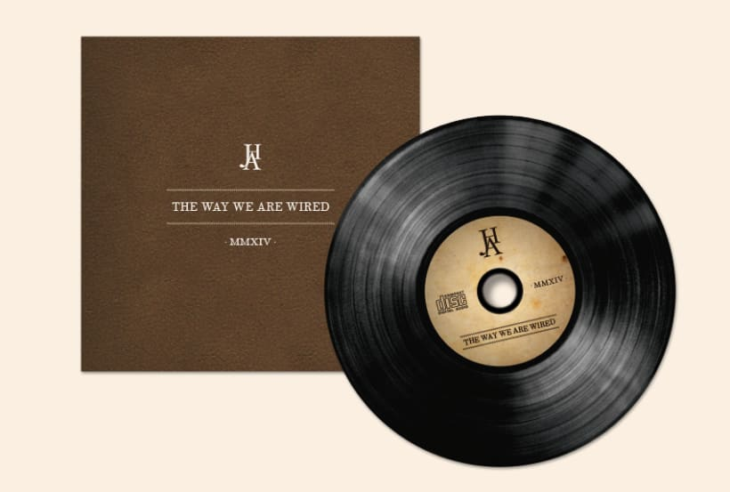 THE WAY WE ARE WIRED · Digipack Design 6