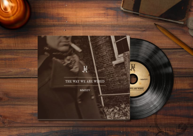 THE WAY WE ARE WIRED · Digipack Design 0