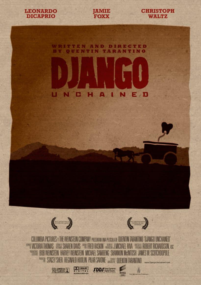 Carteles de Django Unchained 0