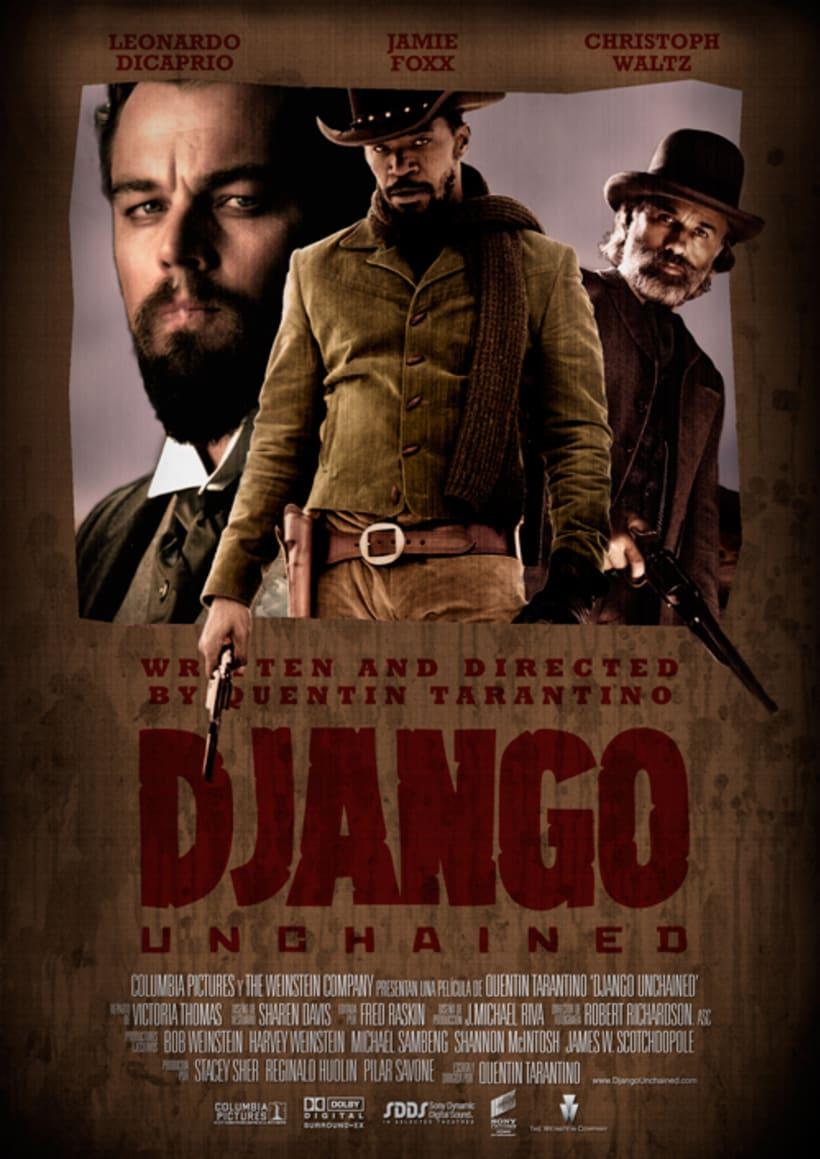 Carteles de Django Unchained 1