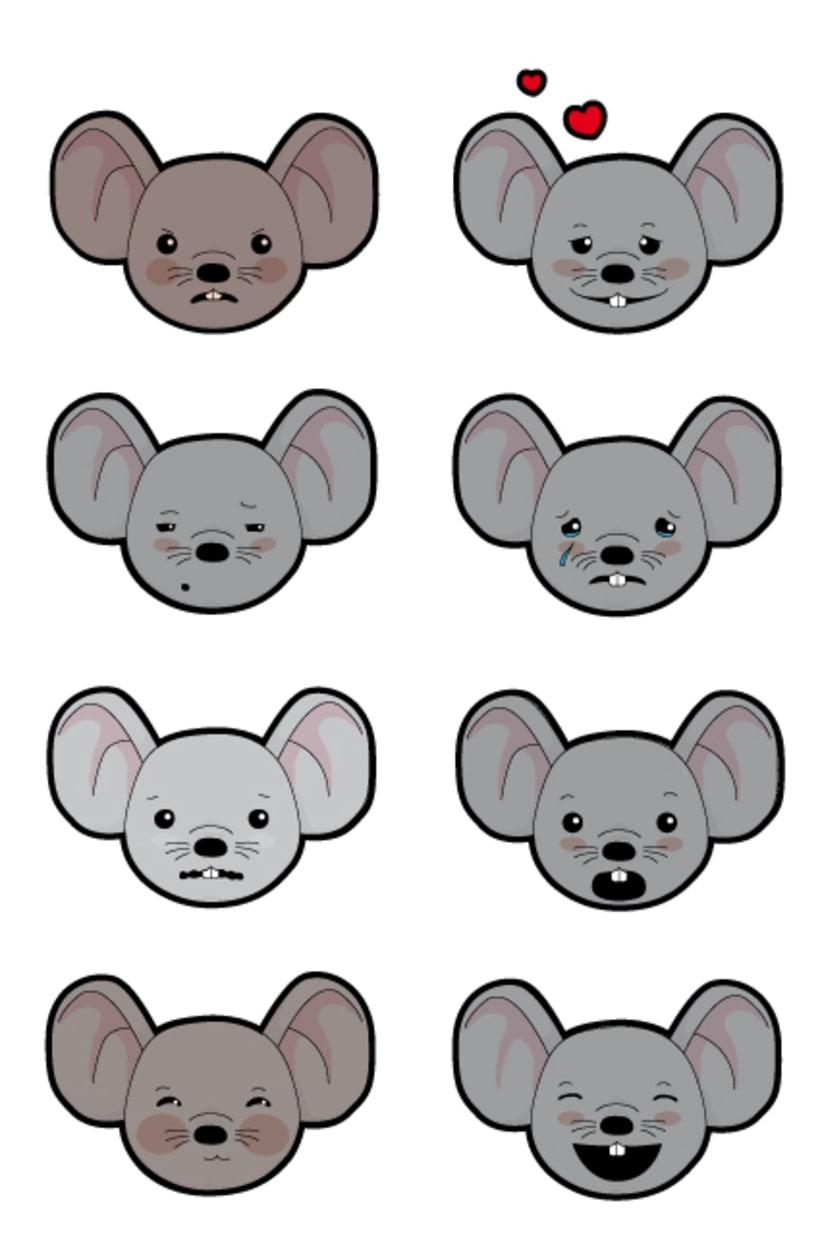 Digital illustration | Analysis of animated characters 1