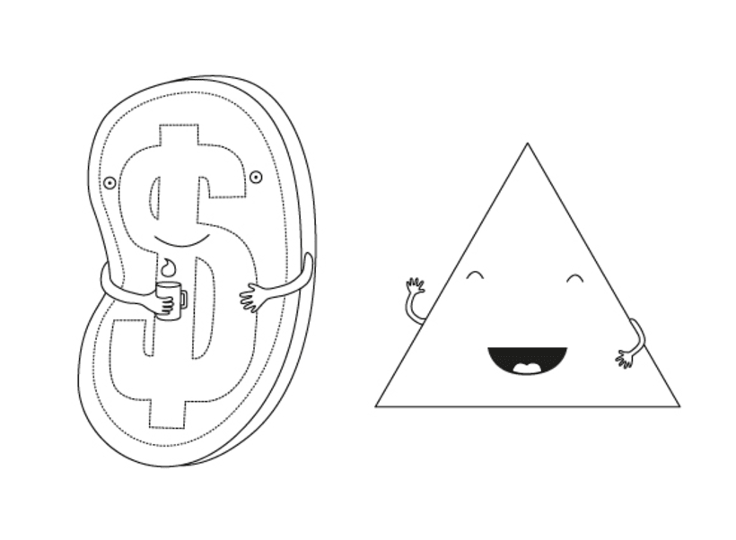 Digital illustration | Analysis of animated characters 8
