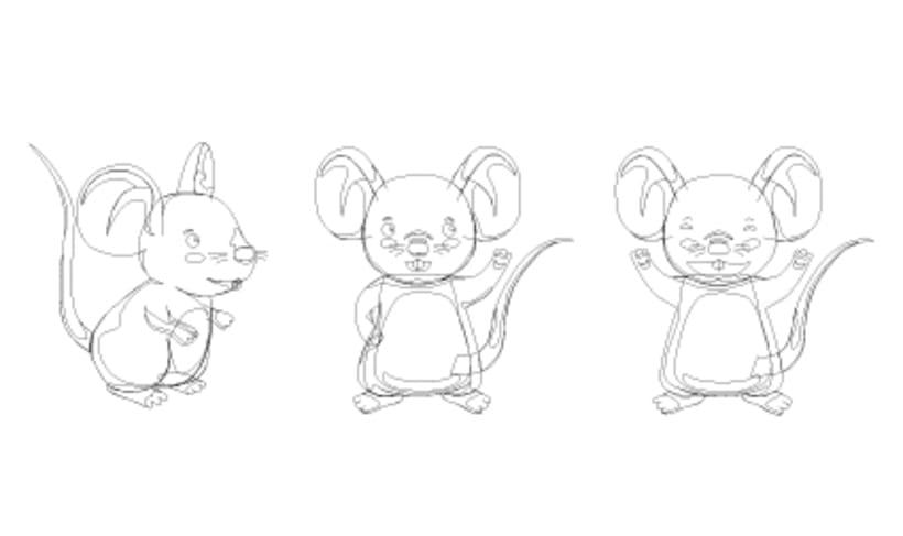 Digital illustration | Analysis of animated characters 2